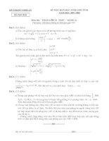 Đề thi HSG Tỉnh Nghệ An(07-08)