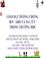 CHUYÊN ĐỀ PHÒNG CHỐNG AIDS-MA TÚY