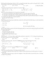100 câu hỏi thi trắc nghiệm môn vật lý lớp 9