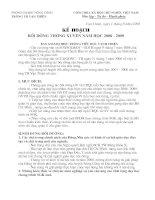 KE HOACH BDTX 08-09