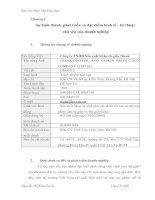 Báo cáo thực tập tại công ty TNHH Sản xuất khăn-tã-giấy Diana