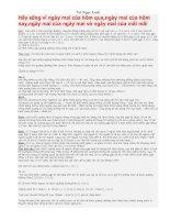 Một số Bài tập Vật lí THCS Hay và khó - Vũ Ngọc Linh