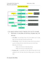Khái niệm cơ bản trong Cơ Khí ( Engineering)