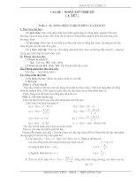 Chủ đề tự chọn : Khảo sát Hám số ( 12-CB )