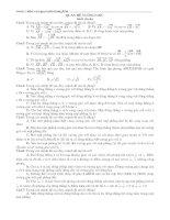 Bài tập TN quan hệ vuông góc rất hay