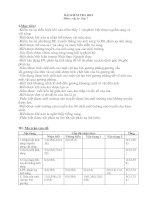 Noel 2008-Đề thi HK1& đáp án - Lý lớp 7 (Đề 04)