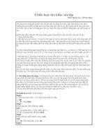 Bài toán: Chiến  lưoc tìm kiếm xâu lặp