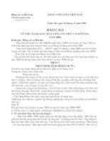 Bao cao chat luong to chuc co so Dang  Nam 08