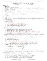 giáo án vật lý lớp 12 CB chương II