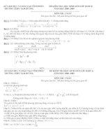 đề thi hsg+Giáo án đại số 10 tiết 40 đến 50