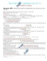 Bài tập vật lý 12
