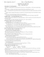 Tài liệu ôn tập sinh hoc 12