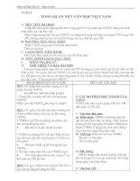 Giáo án văn học Việt Nam lớp 10