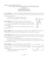 Đề thi HSG vòng huyện 08-09