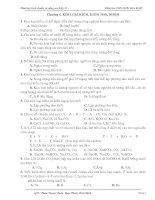 Chương 6. KLK- KLKT-NHÔM