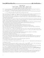 Bài tập HH 12(Chương 2)-mói
