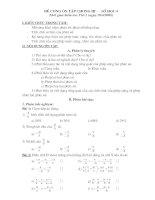 Ôn tập Số học 6 chương III