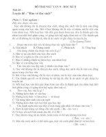 Giáo án buổi 2 - Ngữ văn 9