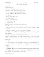Bài 6: Axit nucleic