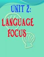 unit1-language focus