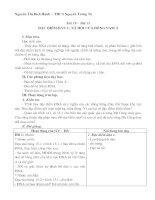 Giáo án Địa 8 kì II