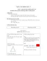 Chương III - Bài 1: Quan hệ giữa góc và cạnh đối diện trong một tam giác