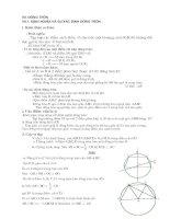 Chuyên đề Toán  ôn   thi vào lớp 10 và thi chuyên của SGD Thanh Hóa - Đường tròn