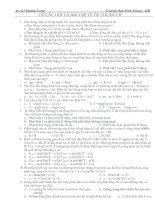 Trắc nghiệm Vật lý 12 ôn thi đại học và tốt nghiệp