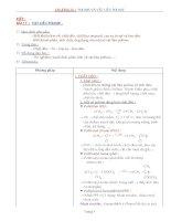 Nội dung bài giảng Hóa 12NC - Bài 17 (GV soạn thêm phần làm việc với HS)