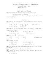 Chuyên đề hình ôn vào cấp 3