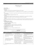 GA ĐỊA LÍ 11 HKII (4 CỘT)