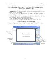 Thao tác đơn giản với PowerPoint