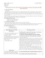 Giáo án Ngữ văn 12 cơ bản HKI