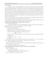 Bài tập về ròng rọc