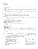 TIẾT 19: BÀI 16: NHỮNG HOẠT ĐỘNG CỦA NGUYỄN ÁI QUỐC OQR NƯỚC NGOÀI (1919-1925)