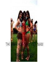 Chùm ảnh 3 - Hoa hậu Việt Nam 2008