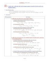 Bài giảng Hóa 12 - Bài 4 (GV soạn thêm phần làm việc với HS)