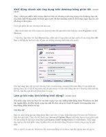 Khởi động nhanh các ứng dụng trên desktop bằng phím tắt