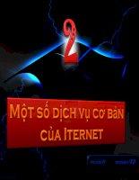 Bài 22. Một số dịch vụ cơ bản của Internet