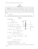 trắc nghiệm vật lý  lớp 12 chương trình mới