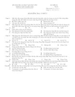 XK: KT 15 phut lop 11 - Tu truong (de 2)