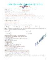 Bài tập sóng điện từ