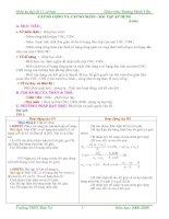 Bài tập Cấp số Cộng- Cấp Số Nhân