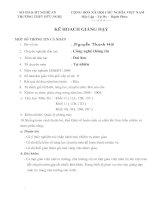 Kế hoạch giảng day tn học 10