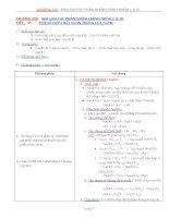Chuong 8 (Kim Loai Cac PNC Nhom I, II, II) - Tiet45 - MotSoHopChatQuanTrongCuaNatri