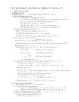 Bất đẳng thức- CĐ thi vào THPT-HSG và thi chuyên môn Toán  của Thanh Hóa