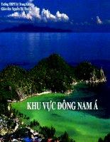 Bài 11: Đông Nam Á (Tiết 1: Tự nhiên - dân cư  - xã hội)