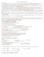 1001 Câu hỏi TN DH&CD Vật Lý 12