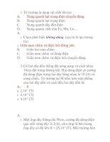 đề kiểm tra học kì 2- LOP 11