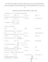 Trac nghiem hàm số bậc nhất - hs bậc hai - phan đăng lưu